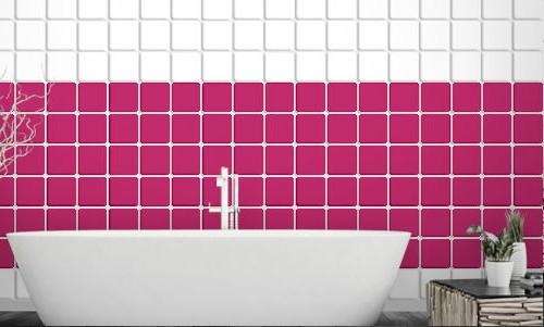 Fliesen im badezimmer verschonern