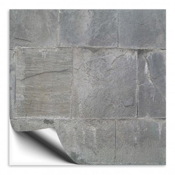 Fliesenaufkleber Steine grau