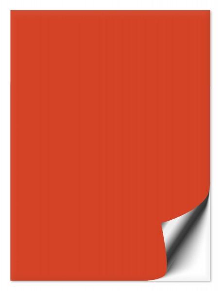 Fliesenaufkleber 20x25 cm orangerot