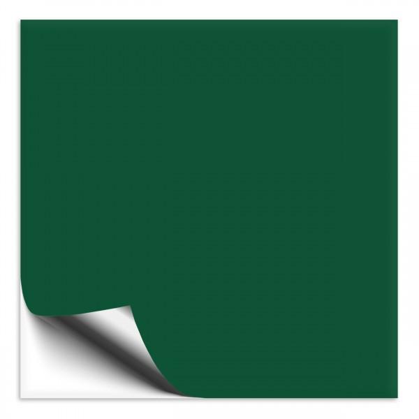 Fliesenaufkleber 10x10 cm waldgrün