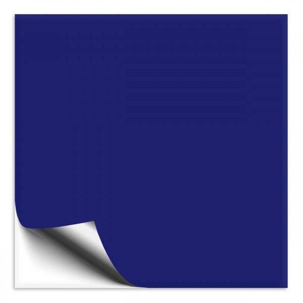 Fliesenaufkleber 10x10 cm königsblau