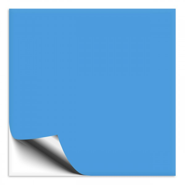 Fliesenaufkleber 20x20 cm lichtblau
