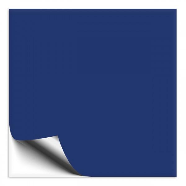 Fliesenaufkleber 33x33 cm blau