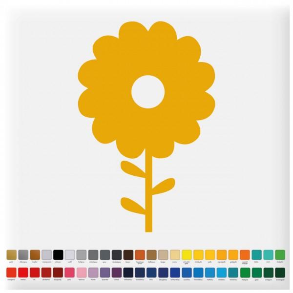 Fliesenaufkleber Sonnenblume