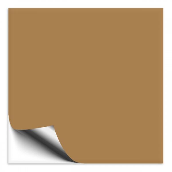 Fliesenaufkleber 18x18 cm hellbraun