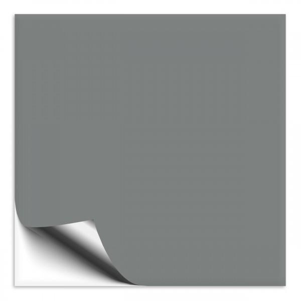 Fliesenaufkleber 15x15 cm grau