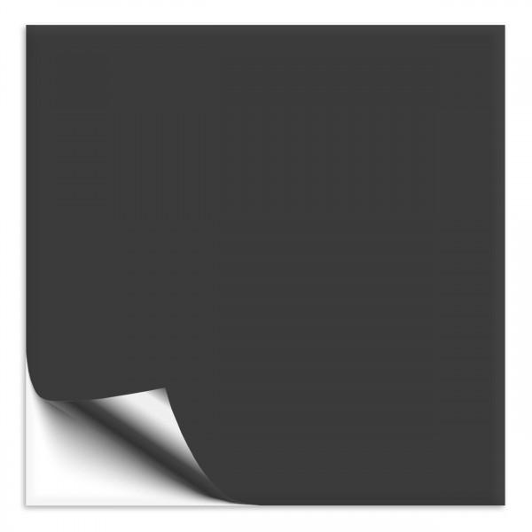 Fliesenaufkleber 33x33 cm dunkelgrau