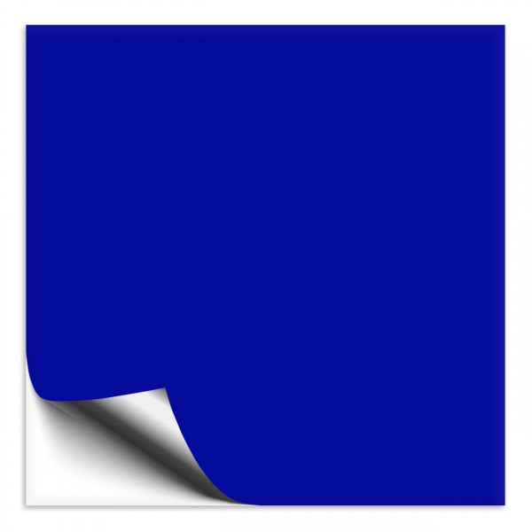 Fliesenaufkleber 15x15 cm brilliantblau