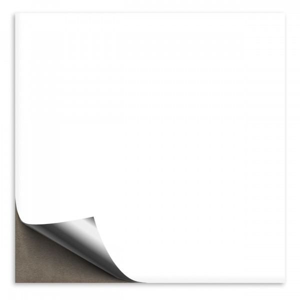 Fliesenaufkleber 15x15 cm weiß