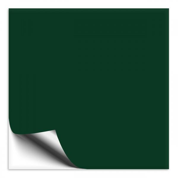 Fliesenaufkleber 18x18 cm dunkelgrün