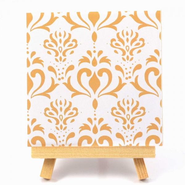 Fliesenaufkleber Ornamente beige Original