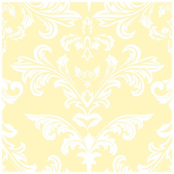 Fliesenaufkleber Ornamente gelb