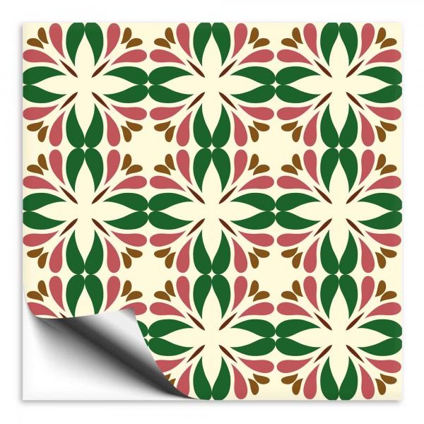Fliesenaufkleber Marokko Ornament bunt 21