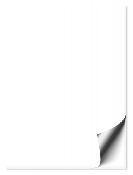 Fliesenaufkleber 20x25 cm weiß
