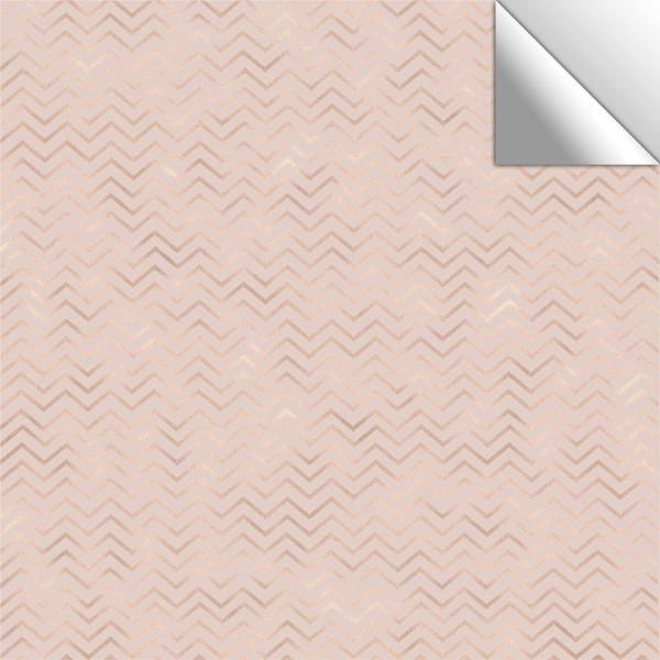 Fliesenaufkleber rosa/golden