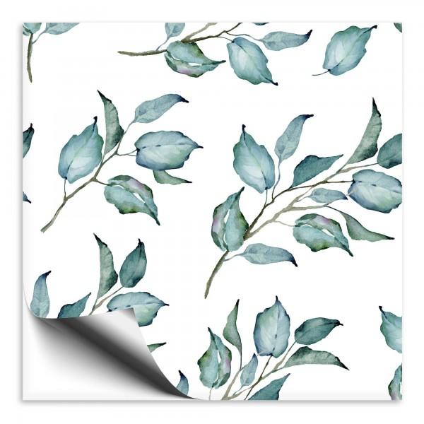 Fliesenaufkleber Zweige grün