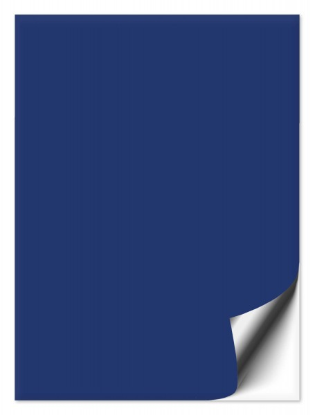Fliesenaufkleber 20x25 cm blau