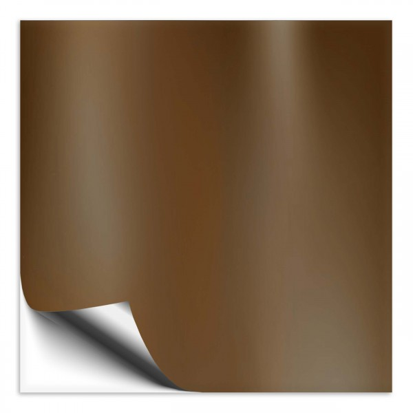 Fliesenaufkleber 18x18 cm kupfer