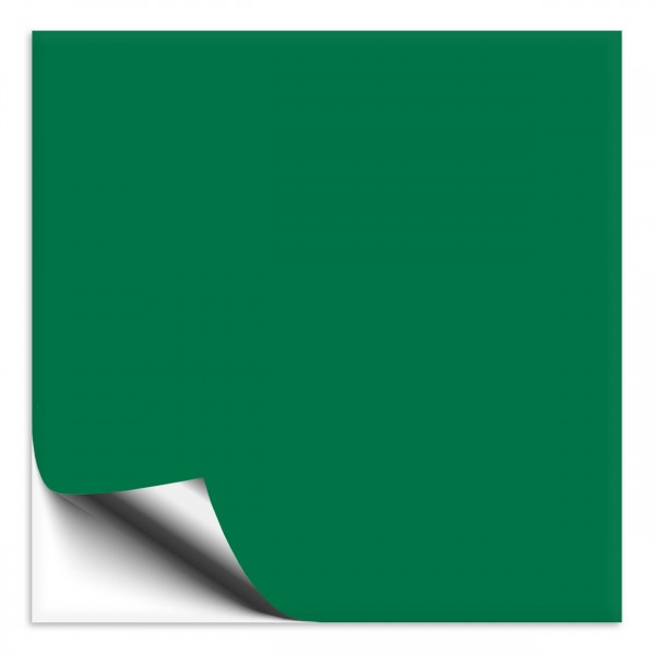 Fliesenaufkleber 25x25 cm grün
