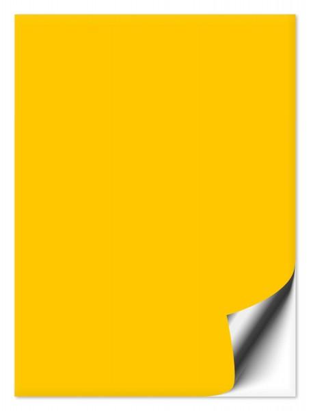 Fliesenaufkleber 20x25 cm gelb