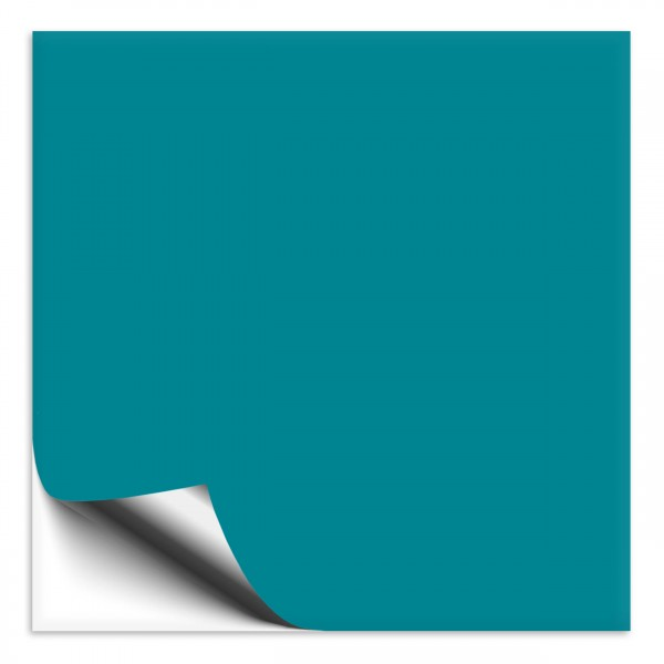 Fliesenaufkleber türkisblau 20x20cm