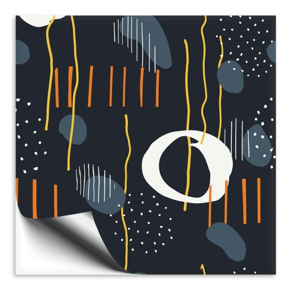 Fliesenaufkleber Abstrakt dunkel 1