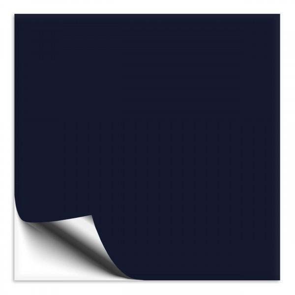 Fliesenaufkleber 10x10 cm tiefseeblau