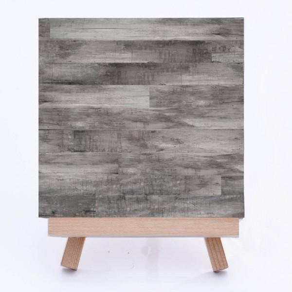 Fliesenaufkleber Holz Pinie grau - Fliesen bekleben