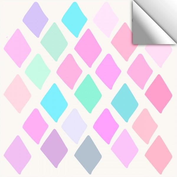 Fliesenaufkleber Mosaikmuster, bunt
