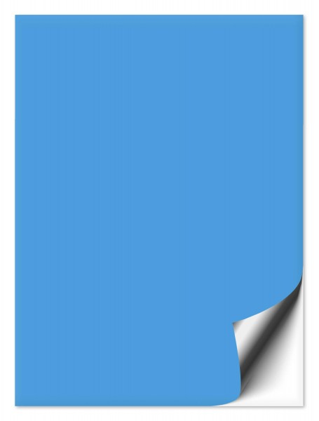 Fliesenaufkleber 15x20 cm lichtblau