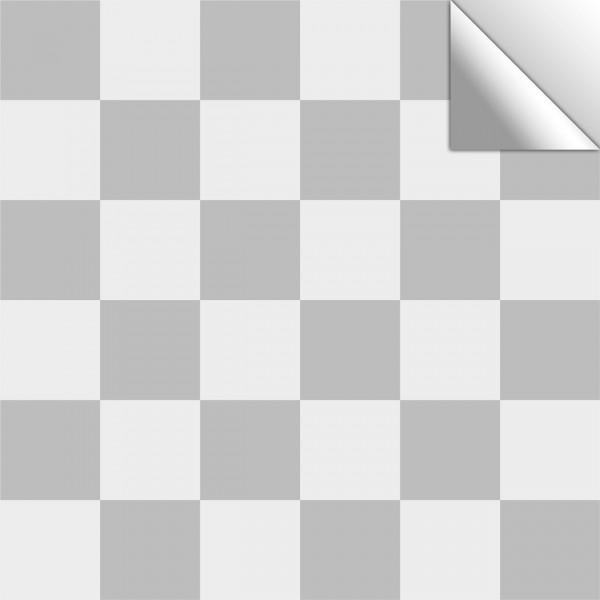 Fliesenaufkleber Mosaik hellgrau/grau