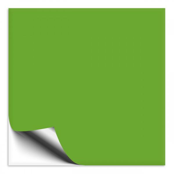 Fliesenaufkleber 10x10 cm lindgrün