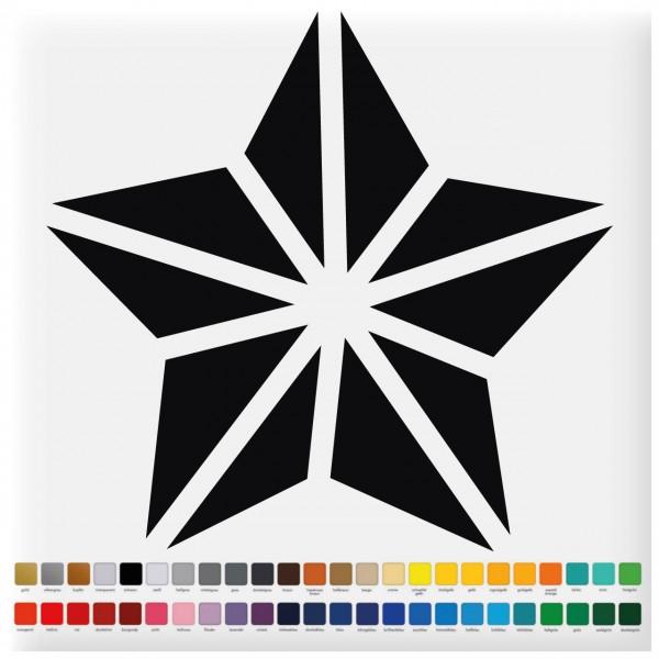 Fliesenaufkleber Stern