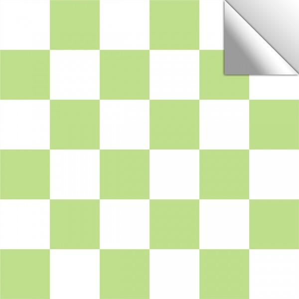 Fliesenaufkleber Mosaik weiß-limegrün