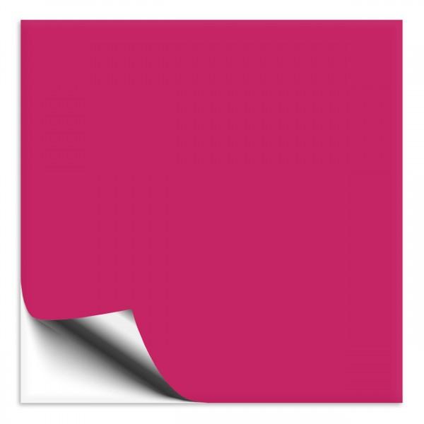 Fliesenaufkleber 33x33 cm pink