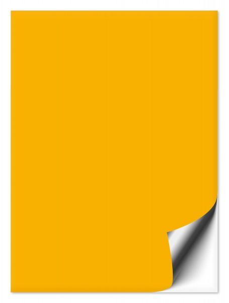 Fliesenaufkleber 15x20 cm goldgelb
