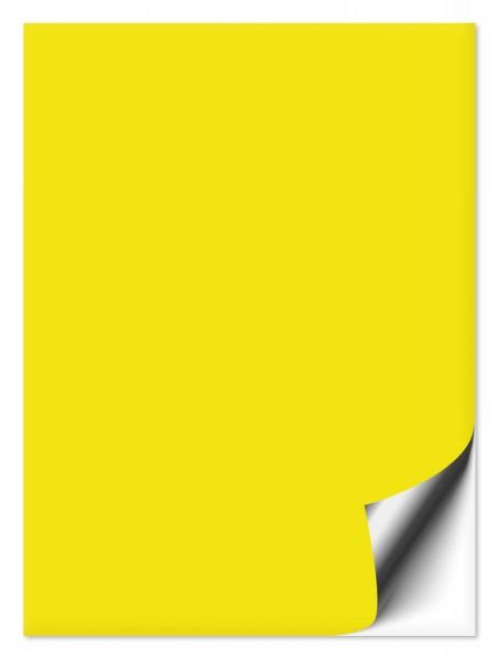 Fliesenaufkleber 20x30 cm schwefelgelb