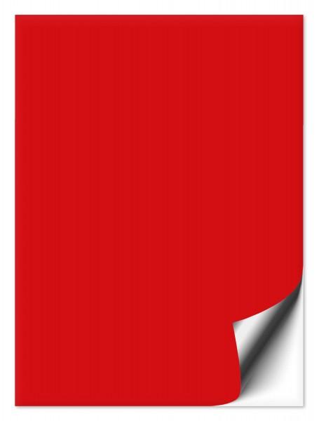 Fliesenaufkleber 20x25 cm rot