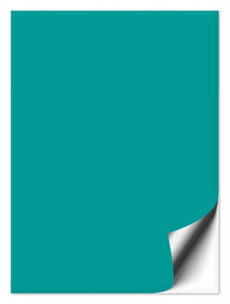 Fliesenaufkleber 15x20 cm türkis