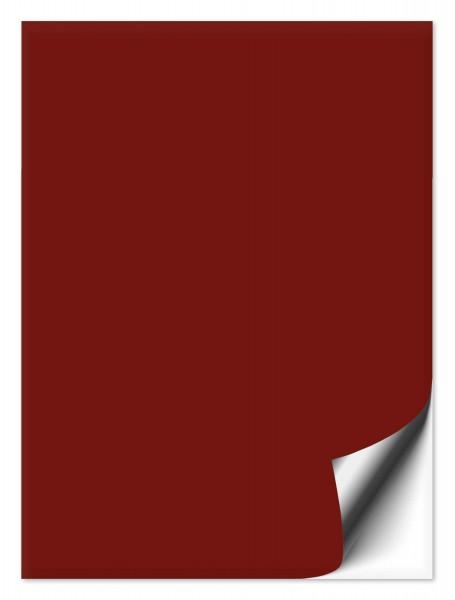 Fliesenaufkleber 20x25 cm burgundy