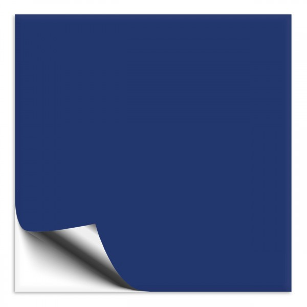 Fliesenaufkleber 25x25 cm blau