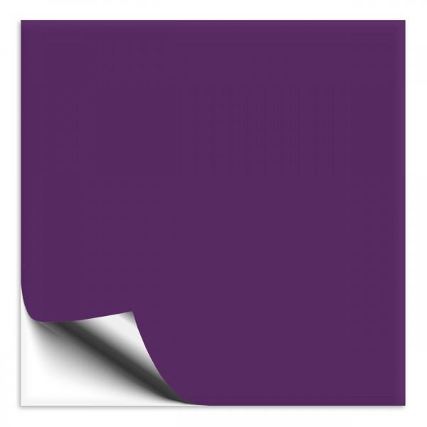 Fliesenaufkleber 15x15 cm violett