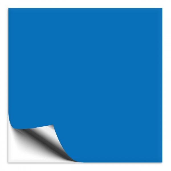Fliesenaufkleber 10x10 cm himmelblau