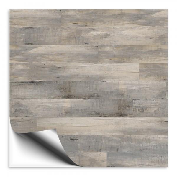 Holz Fliesenaufkleber silbereiche