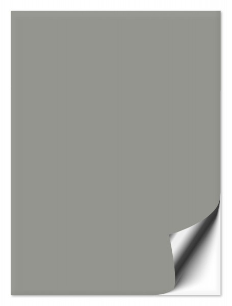 Fliesenaufkleber mittelgrau 15x20cm
