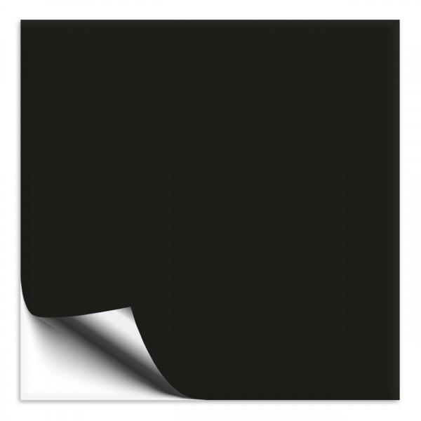 Fliesenaufkleber 18x18 cm schwarz