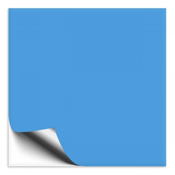 Fliesenaufkleber 15x15 cm lichtblau