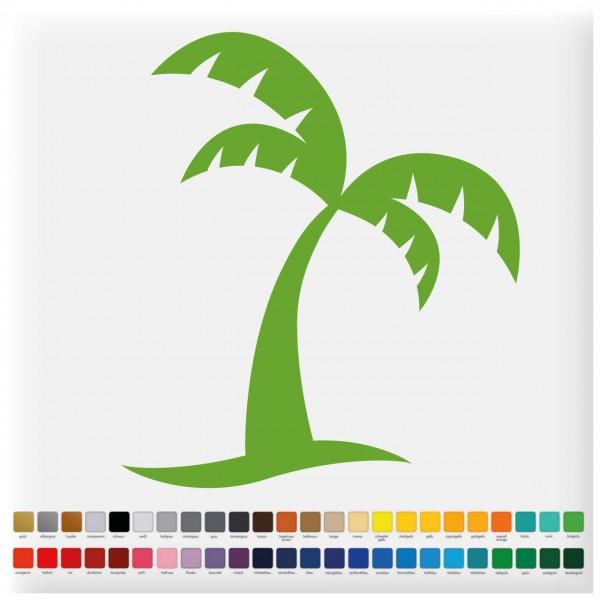 Fliesenaufkleber Palme