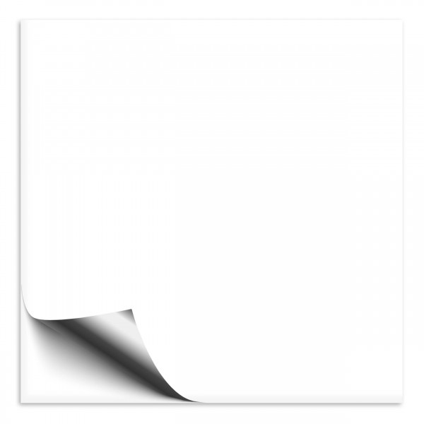 Fliesenaufkleber 20x20 cm transparent