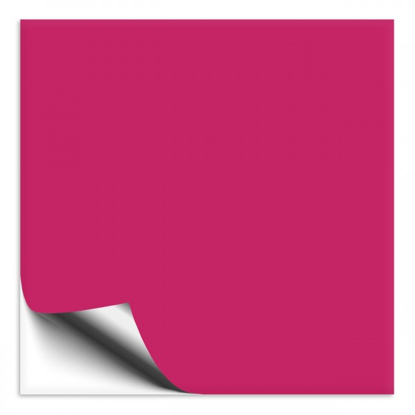 Fliesenaufkleber 10x10 cm pink